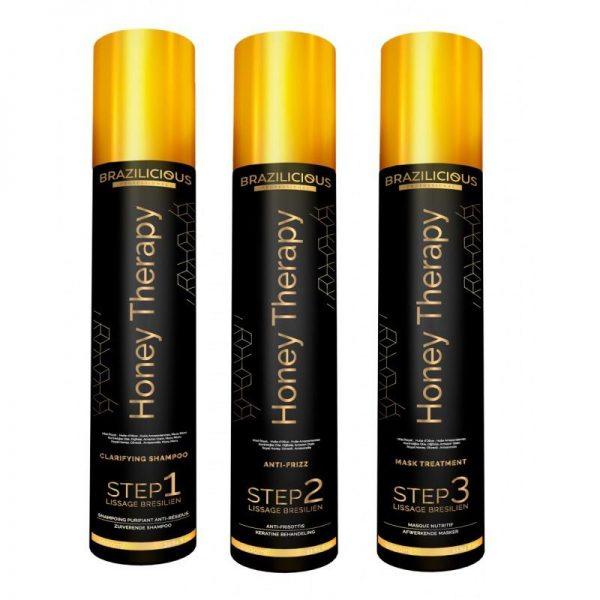 BraziliCious Honey Therapy Keratin 3 x 1000ml