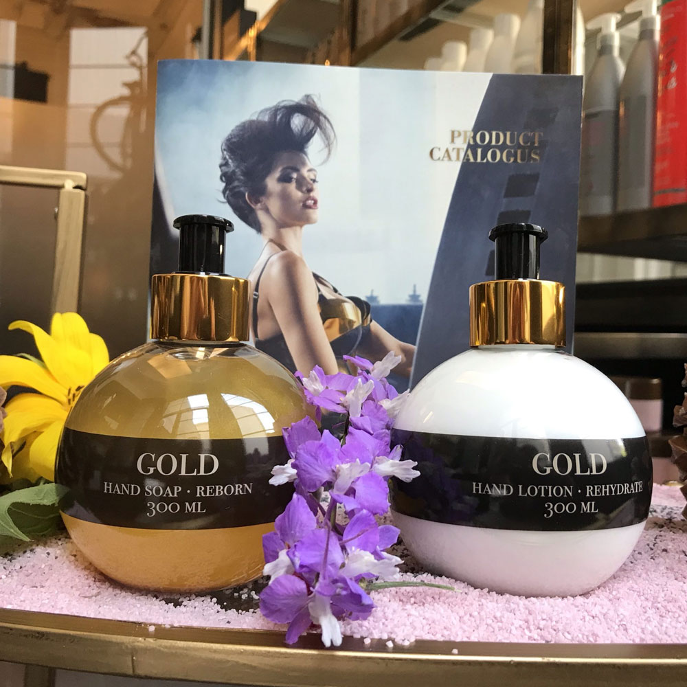 Gold Haircare Hand Soap Reborn & Hand Lotion Rehydrate